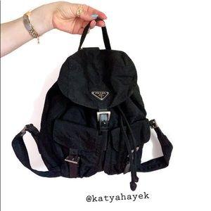 Vintage 🖤 Prada Nylon Backpack